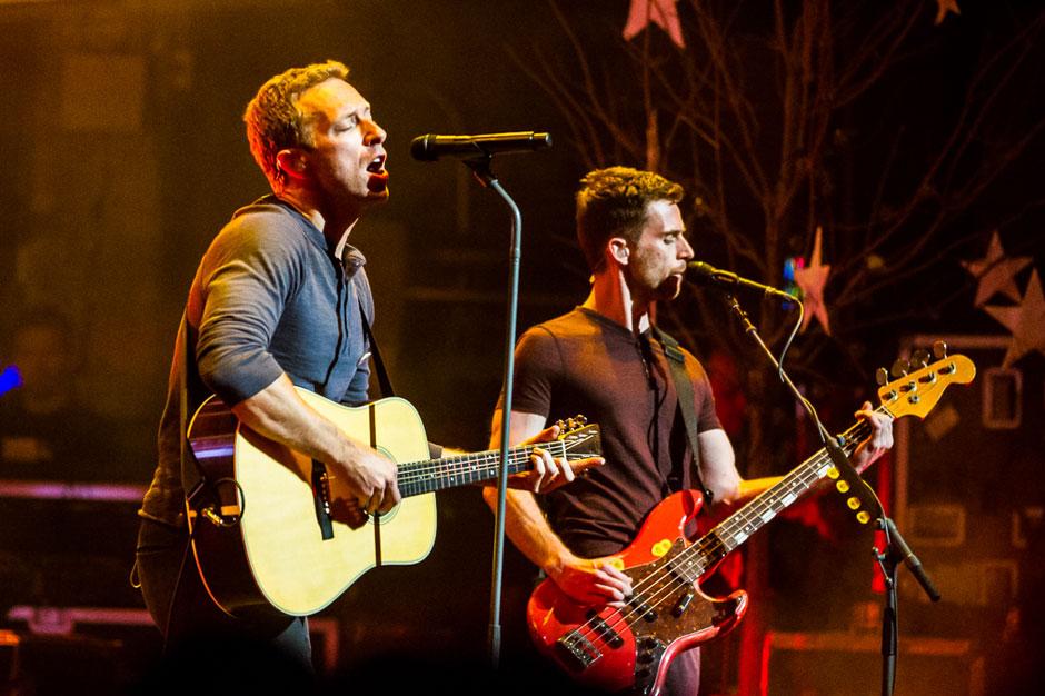 Coldplay, Esibizione al Central Park di New York