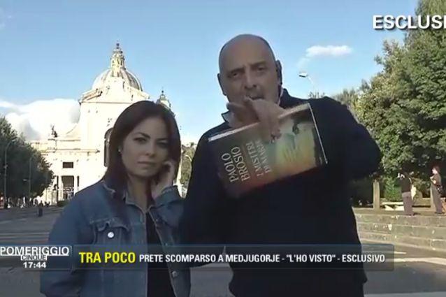 Paolo Brosio Lascia Collegamento con Pomeriggio Cinque