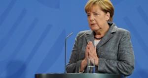 Angela Merkel al Salone dell'Auto di Francoforte