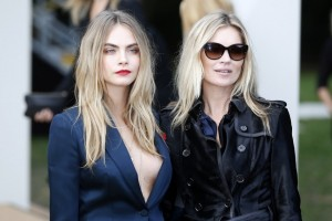 Milano, Kate Moss e Cara Delevingne allo Store Mango