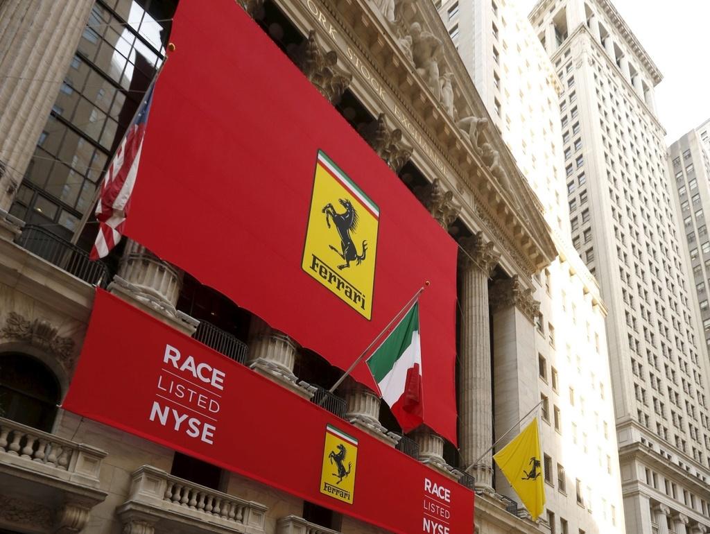 Ferrari Debutta a Wall Street