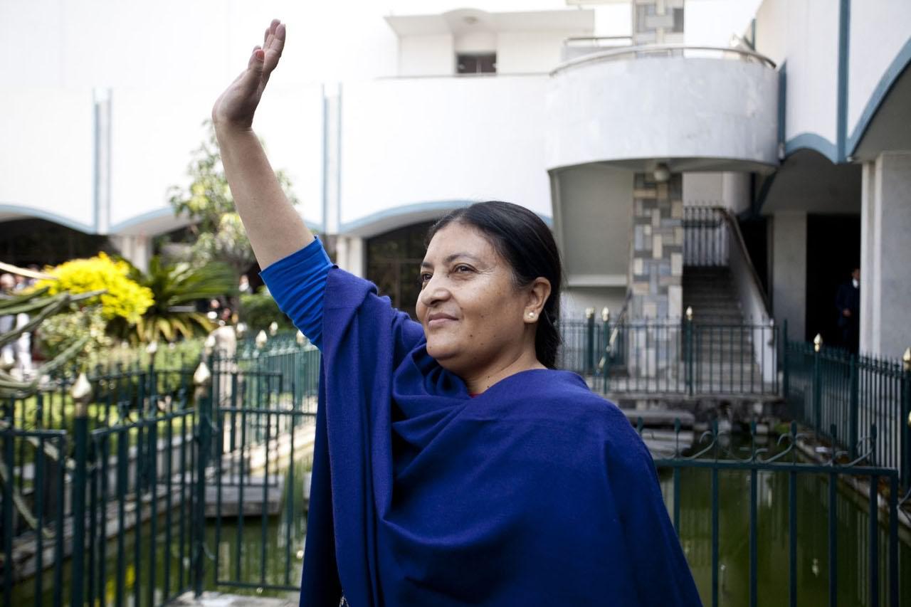Nepal, Bandhari Presidente: Prima Donna