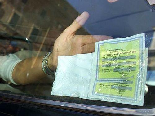 RC Auto: Tagliando di Carta Non Obbligatorio