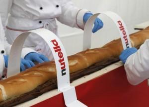 Expo, Baguette con Nutella da Record