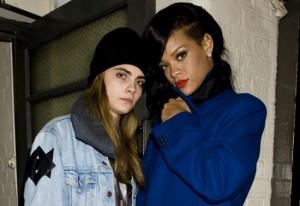 Rihanna e Cara Delevingne nel Film di Luc Besson