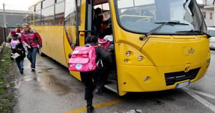 Civitavecchia, Bimba Dimenticata in Scuolabus