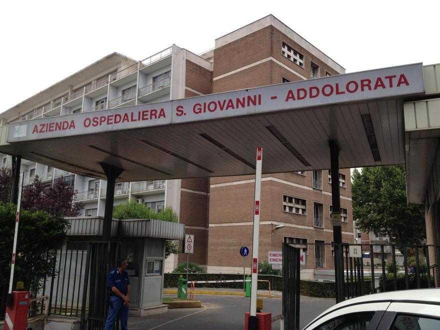Roma, Uomo Armato All'ospedale San Giovanni