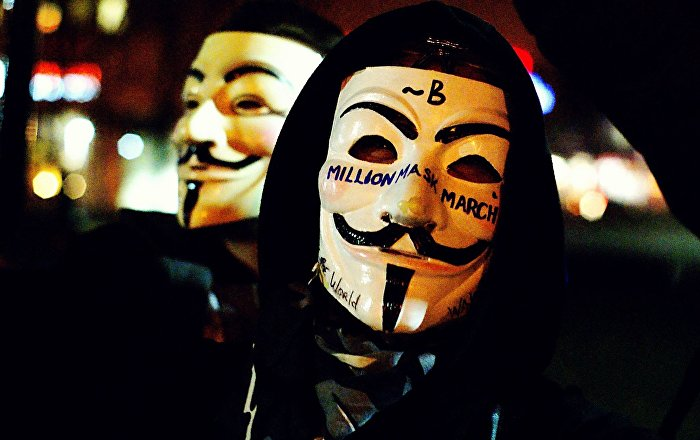 Anonymous, Commemorazione Guy Fawks a Londra