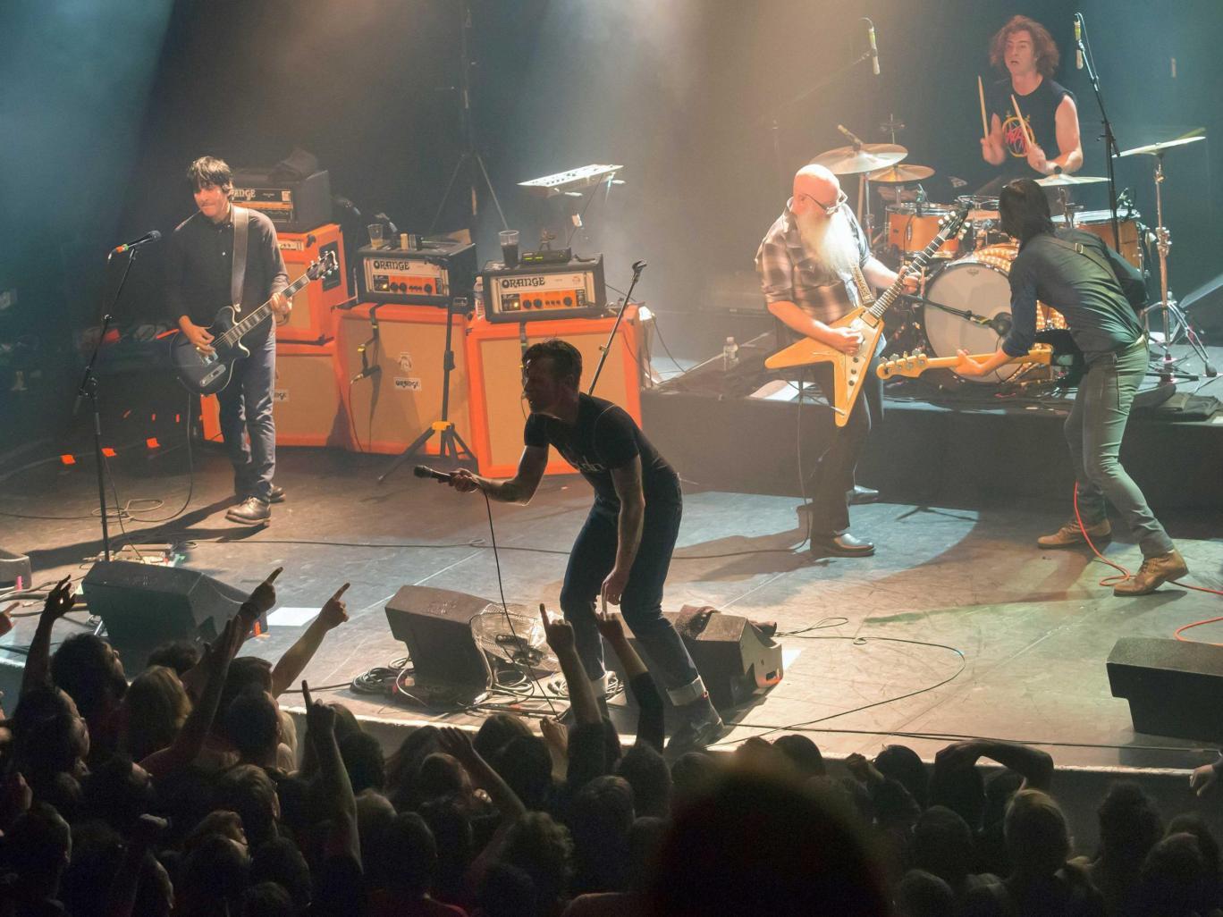 Eagles od Death Metal Ricordano Attimi Terribili al Bataclan