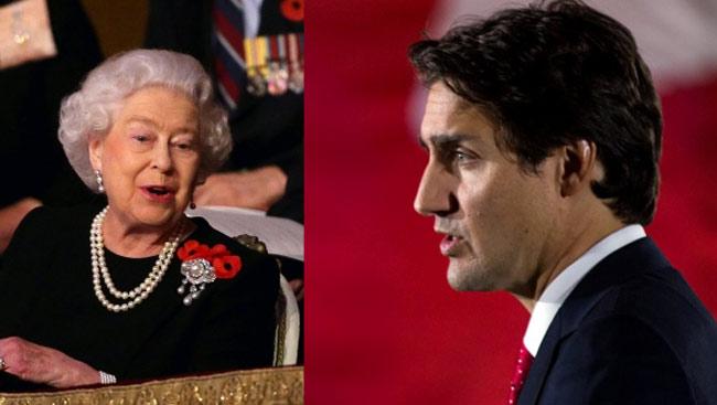 Regina Elisabetta: commento ironico discorso Trudeau