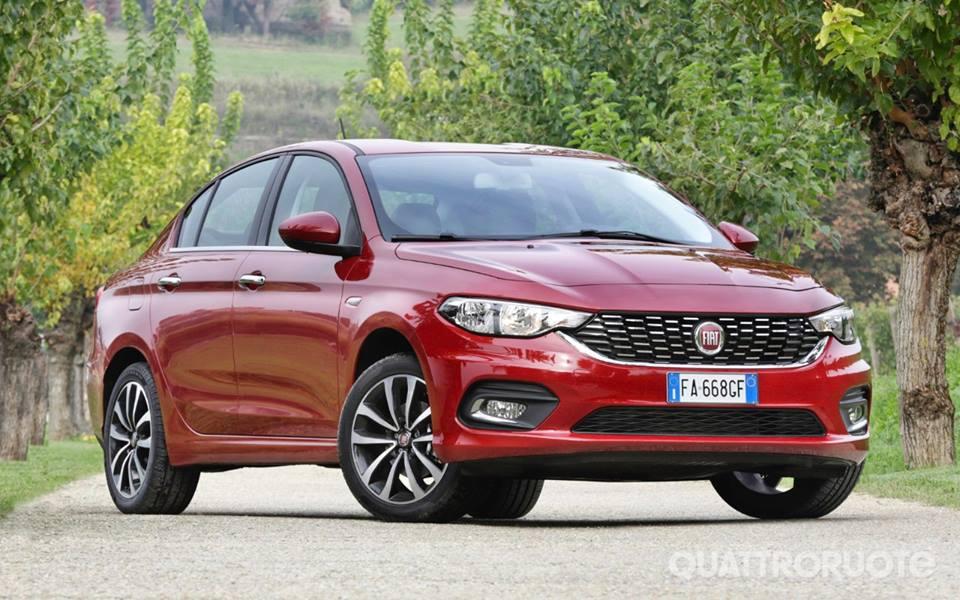 Nuova Fiat Tipo: prezzo promozionale