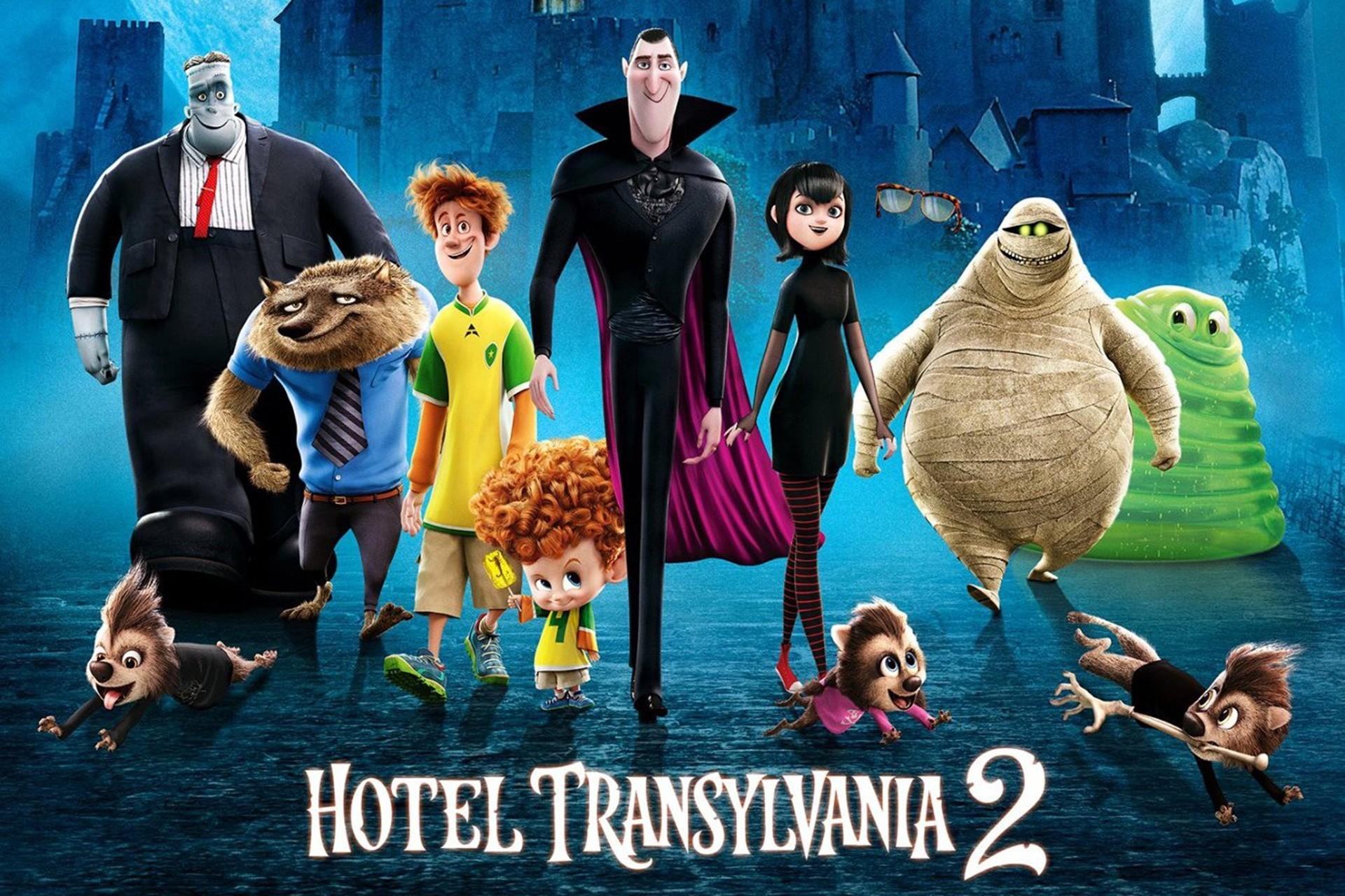 Hotel transylvania i personaggi del cartone diventano
