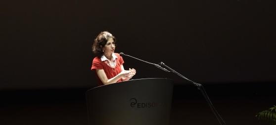 Fabiola Gianotti al Teatro Dal Verme