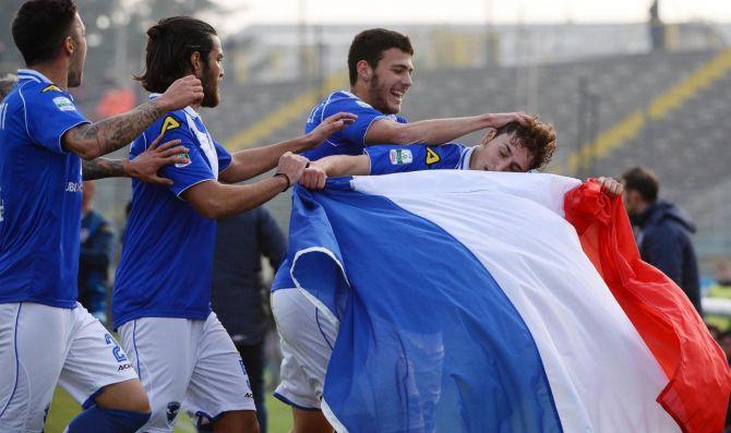 Serie A: Marsigliese e Tricolore Francese in Campo