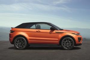 Range Rover Evoque Convertibile: Lusso e Sportività