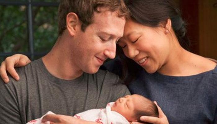 Mark Zuckerberg diventa padre e dona azioni Facebook