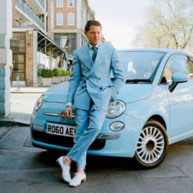 Lapo Elkann e la Fiat 500