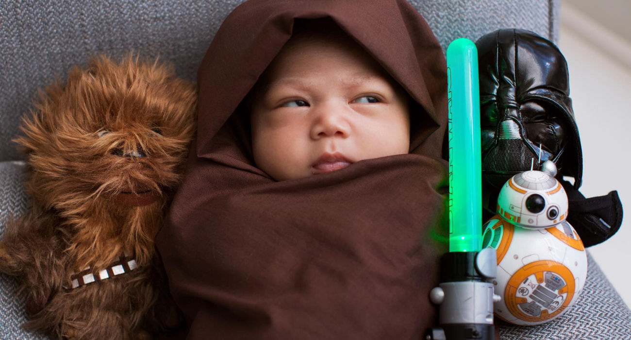 Mark Zuckerberg veste figlia da Jedi
