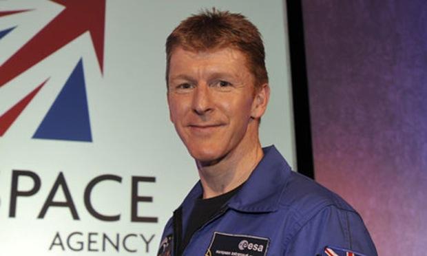 Tim Peake sbaglia chiamata dalla Stazione Spaziale Internazionale