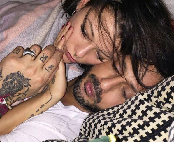 Fabrizio Corona e Silvia Prossedi: foto su Instagram