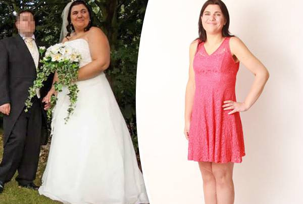Jen Mellor perde 50 kg