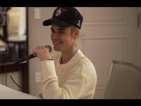 """Justin Bieber omaggia Beethoven al pianoforte: """"Per Elisa"""" perfetta"""