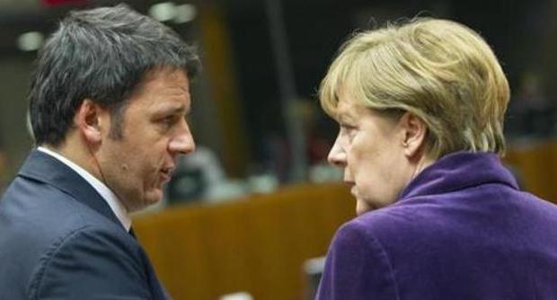 Renzi Ritiene che Francia e Germania non Possono Farcela da Sole