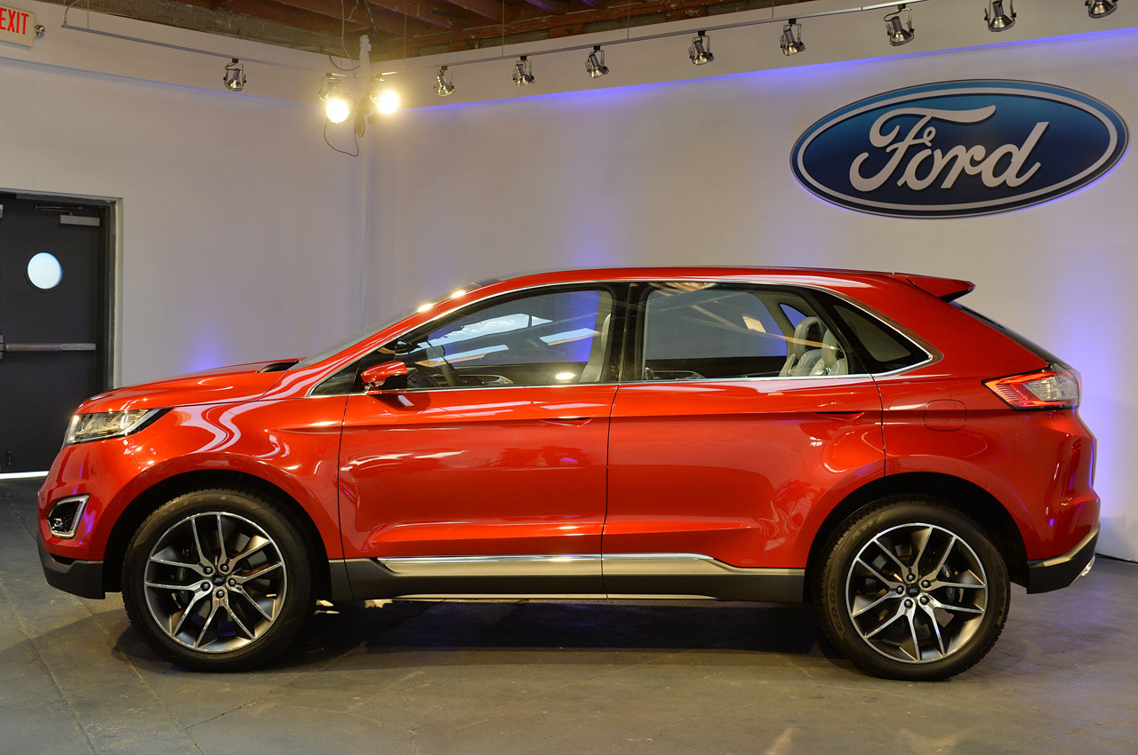 Ford Edge: imponente ed elegante Suv statunitense