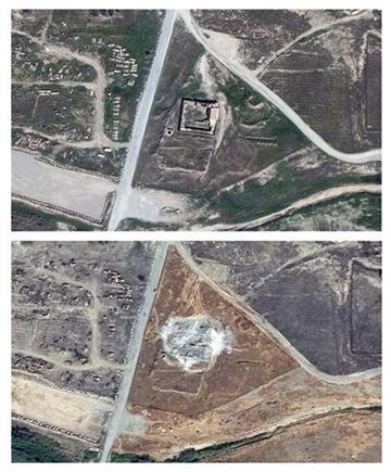 Iraq, Isis devasta più antico monastero cristiano: foto satellitari lo comprovano