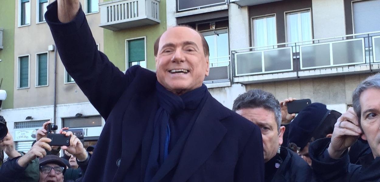 Berlusconi Scende in Campo contro Renzi e M5S
