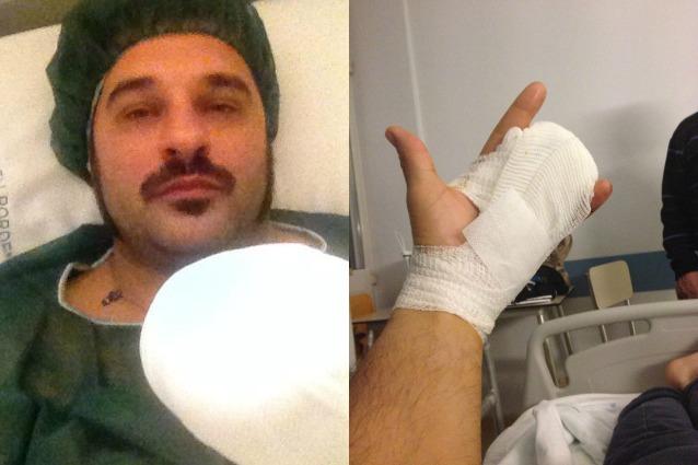 Mauro Marin Vittima Incidente: Dita Amputate