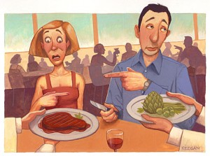 Vegetariani e Vegani Vivono come Consumatori di Carne