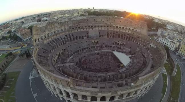 Turista Cinese Fa Volare Drone sul Colosseo: Denunciato