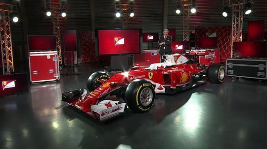 Ferrari Presenta SF16-H a Maranello