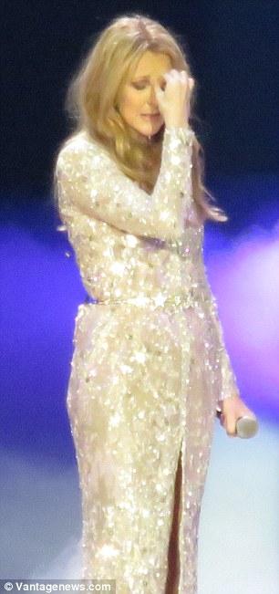 Celine Dion Commossa a Las Vegas