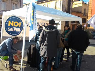 Roma, Aggressione Gazebo 'Noi con Salvini' a Tor Sapienza