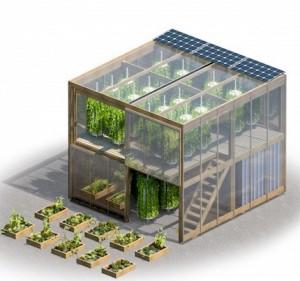 Impact Farm: Serra Urbana Componibile come Mobili Ikea