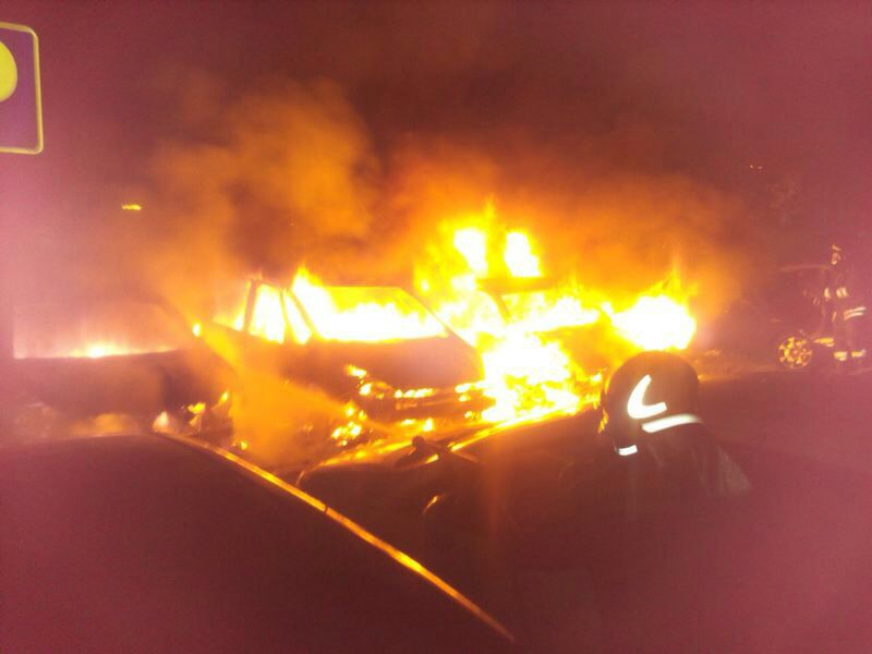 Roma, Incendio in Oleodotto Maccarese
