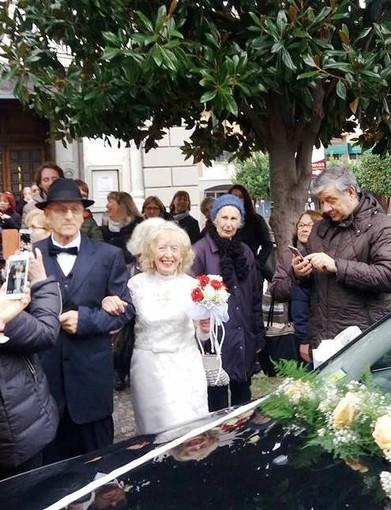 Alassio: Zia Franco Fasano Sposa a 83 Anni