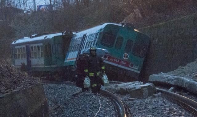Maltempo: Treno Deraglia a Biella, Viaggiatori Illesi