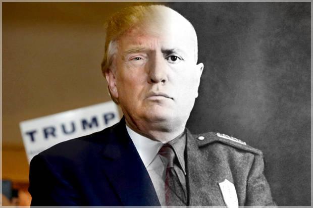 Trump Ritwitta Duce: Polemiche
