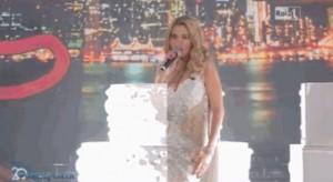 Porta a Porta: Valeria Marini come Marilyn