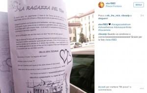 Milano: volantino per ritrovare ragazza del tram