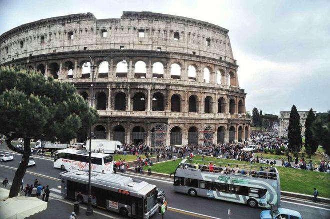 Roma, Assedio Topi: Biglietterie Chiuse