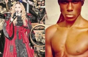 Madonna invaghita di modello ivoriano