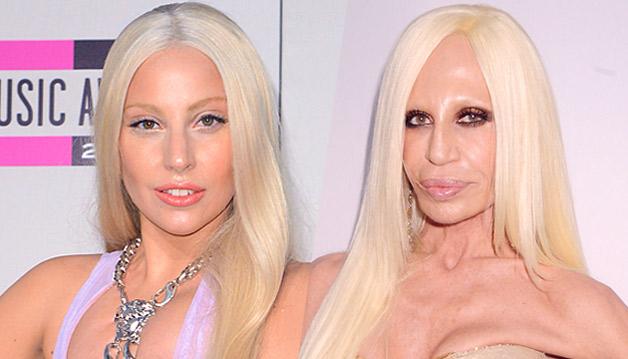 Lady Gaga e Donatella Versace