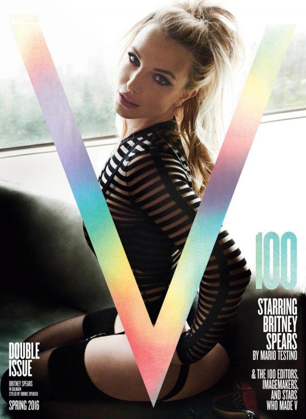 Britney Spears Sensuale su V Magazine: Nuovo Singolo in Arrivo