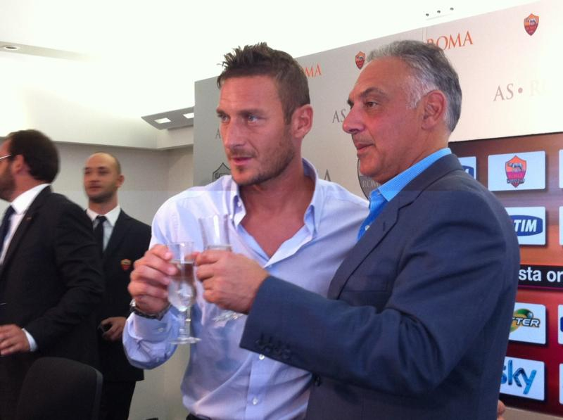Pallotta vuole Totti Manager Roma