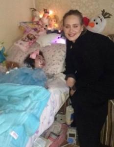Adele Incontra Fan Malata