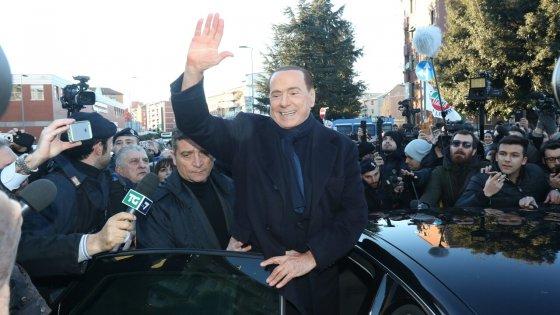 Berlusconi a Palermo: cena da 500 euro